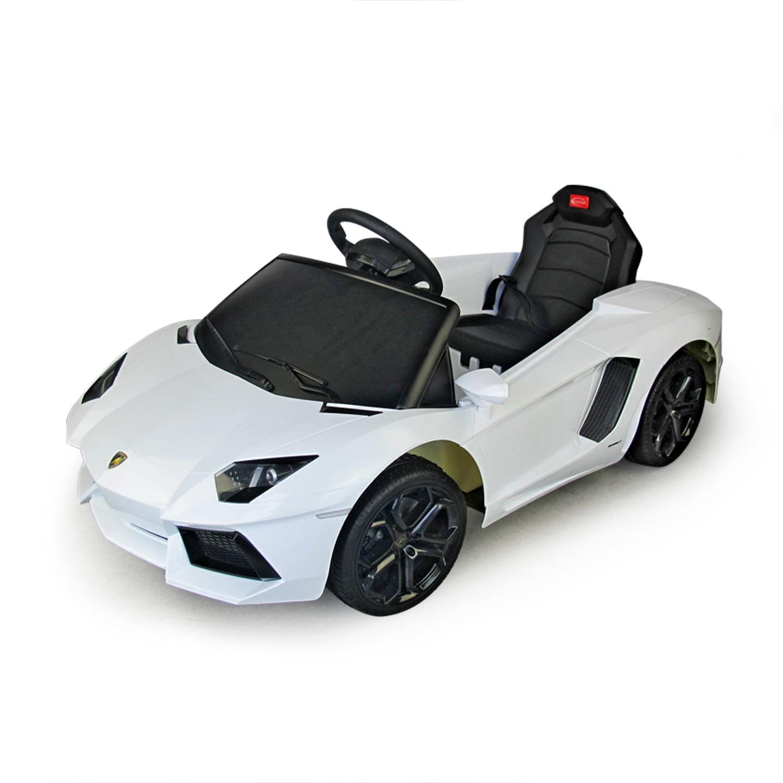 Aosom Lamborghini Aventador 6V Kids Electric Ride-On Car ...