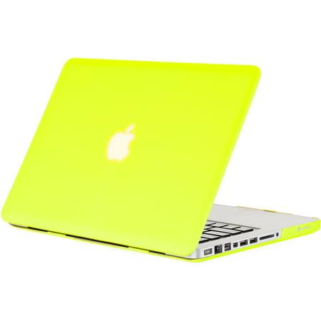competitive price 23d4f eba08 Kuzy - Neon Yellow 13-inch Ultra Slim Rubberized Hard Case Light ...