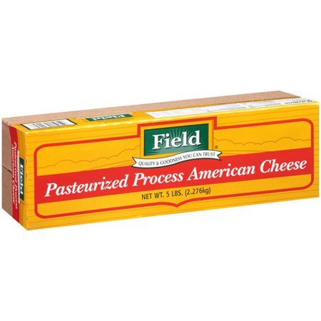 Field Pasteurized Process American Cheese Slices, 5 lbs ...