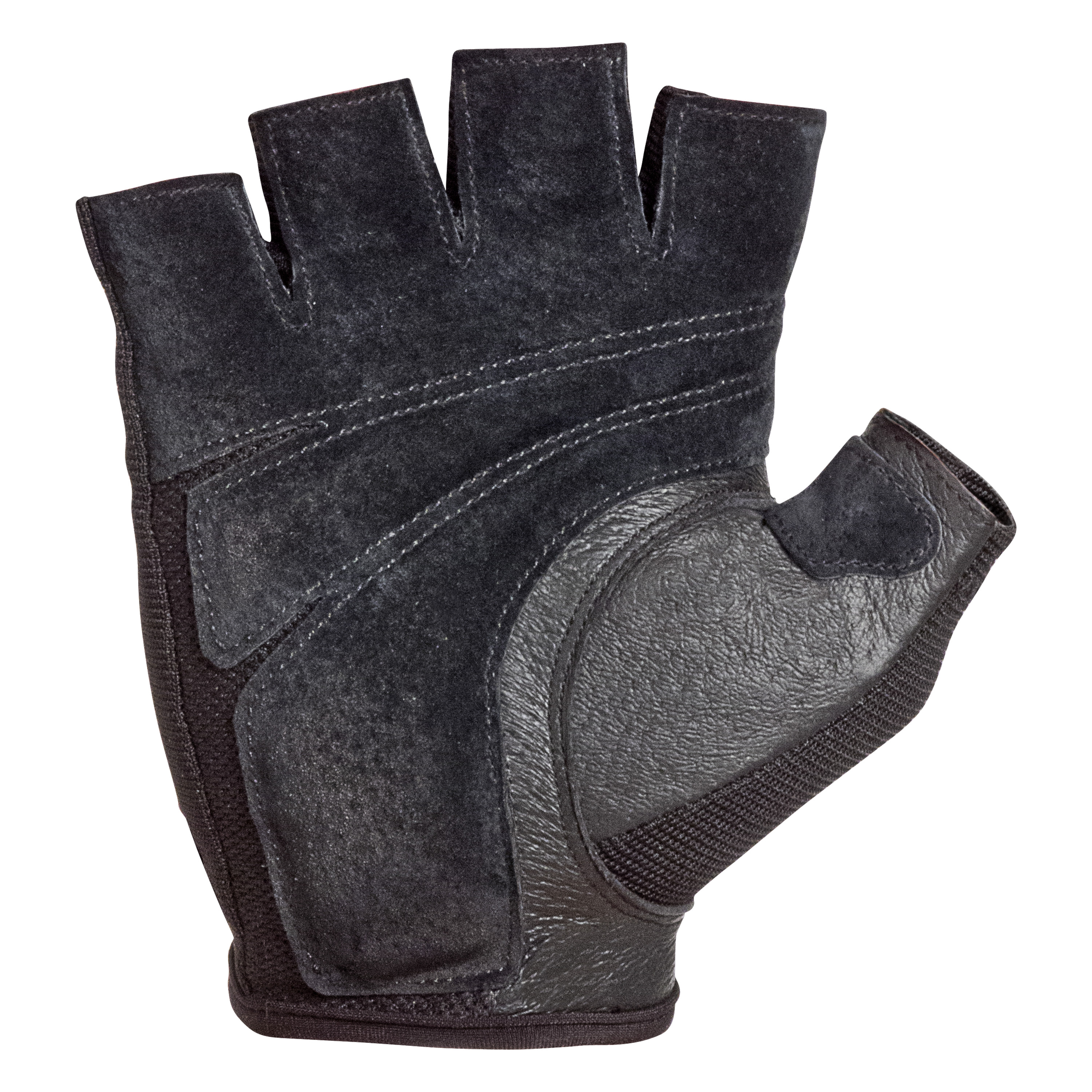 WEIGHT LIFTING GYM GLOVES BLACK LEATHER BRAND NEW MEN    XX-LARGE