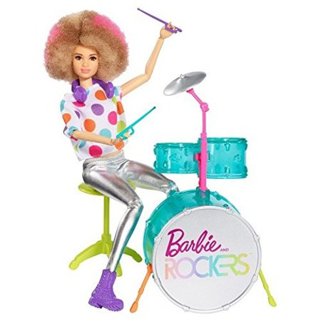 - Barbie and the Rockers Doll & Drum
