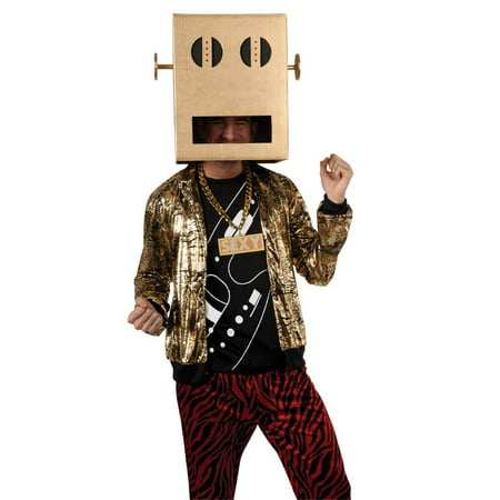 LMFAO Robot Pete Party Rock Anthem Costume Adult - Robot Costume Accessories