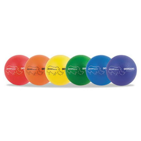 - Champion Sport RXD8SET Rhino Skin Dodge Ball Set, 8 Diameter, Assorted, 6 Balls/Set