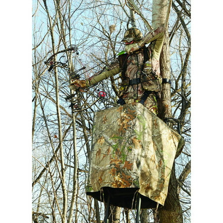 Hunters Specialties Spandex Camo - Hunters Specialties Easy Fit Treestand Skirt, Realtree Xtra