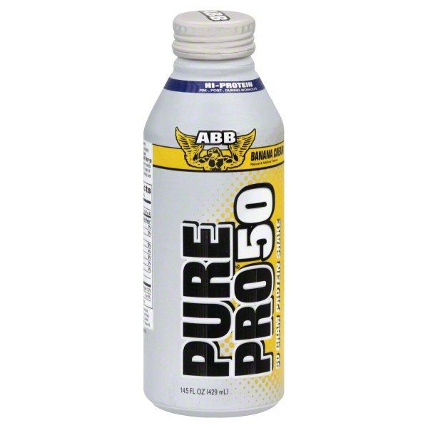 American Body Building Products Abb Pure Pro 50 Protein Shake 14 5 Oz Walmart Com Walmart Com