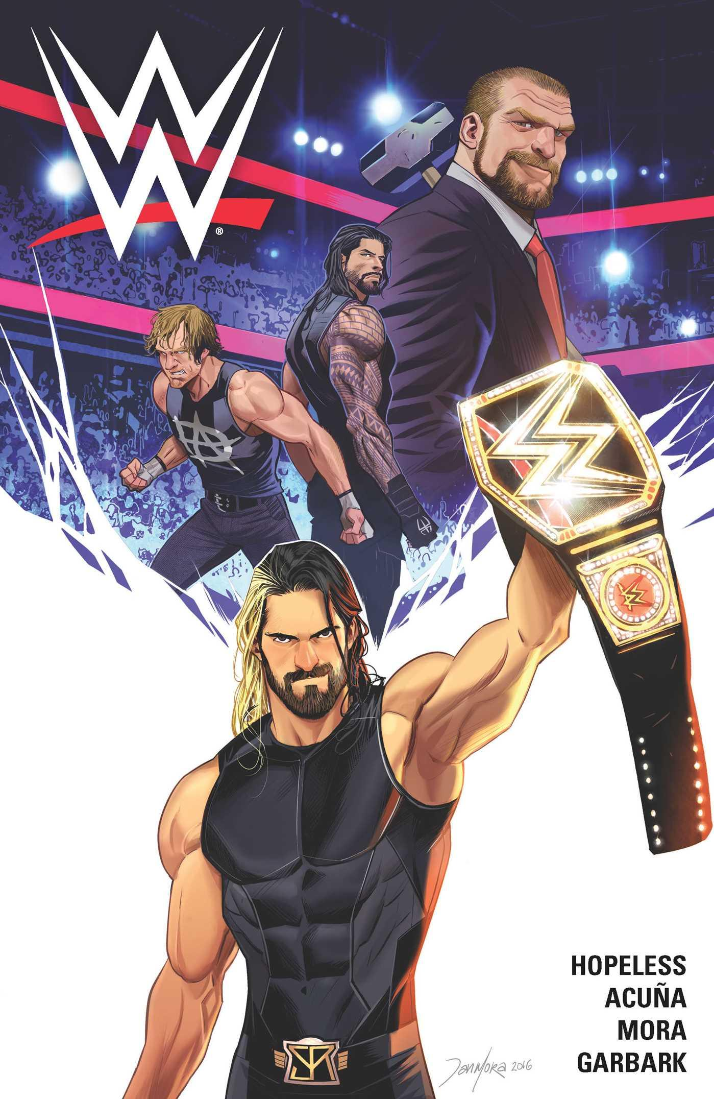 Wwe: WWE, Volume 1 (Paperback) by Boom Town