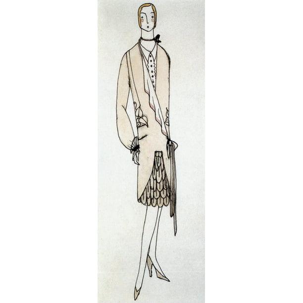 Fashion Design 1920s Poster Print By Science Source Walmart Com Walmart Com