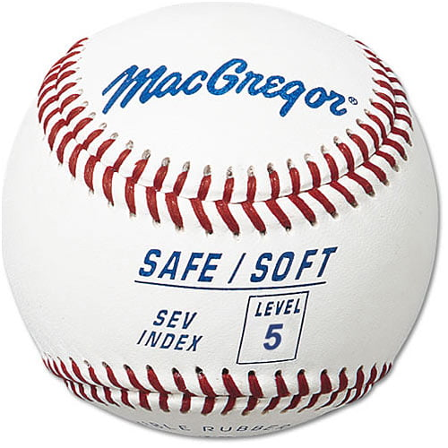 MacGregor Safe Soft Baseball (Level 5, Ages 8-12) by MacGregor