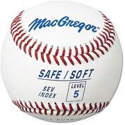 (12 Pack) MacGregor Safe/Soft Level 5 Baseballs, Ages 8-12