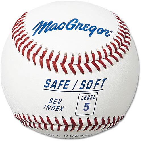 MacGregor Safe/Soft Baseball (Level 5, Ages 8-12)