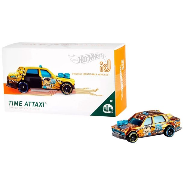 Hot Wheels ID Time Attaxi Die-Cast Car