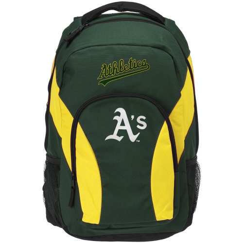 Oakland Athletics Draft Day Backpack - Green - No Size