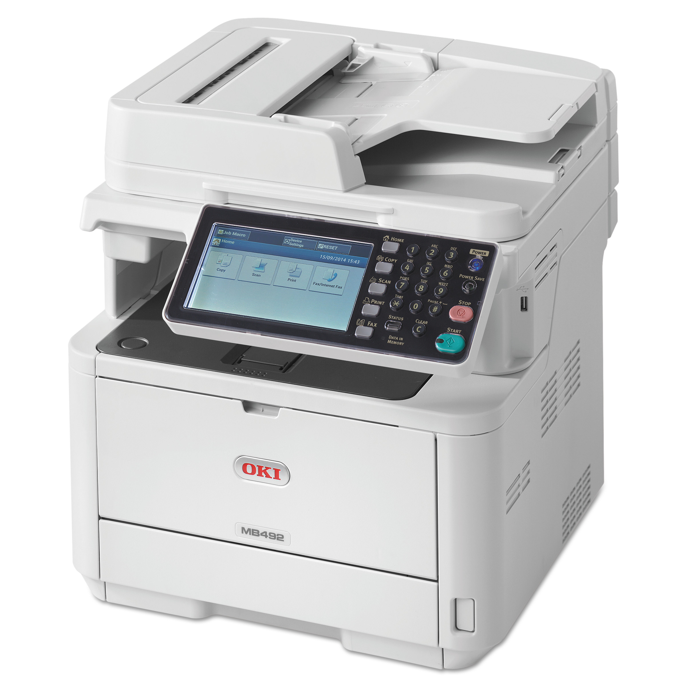 OKI MB492 - multifunction printer (B/W)