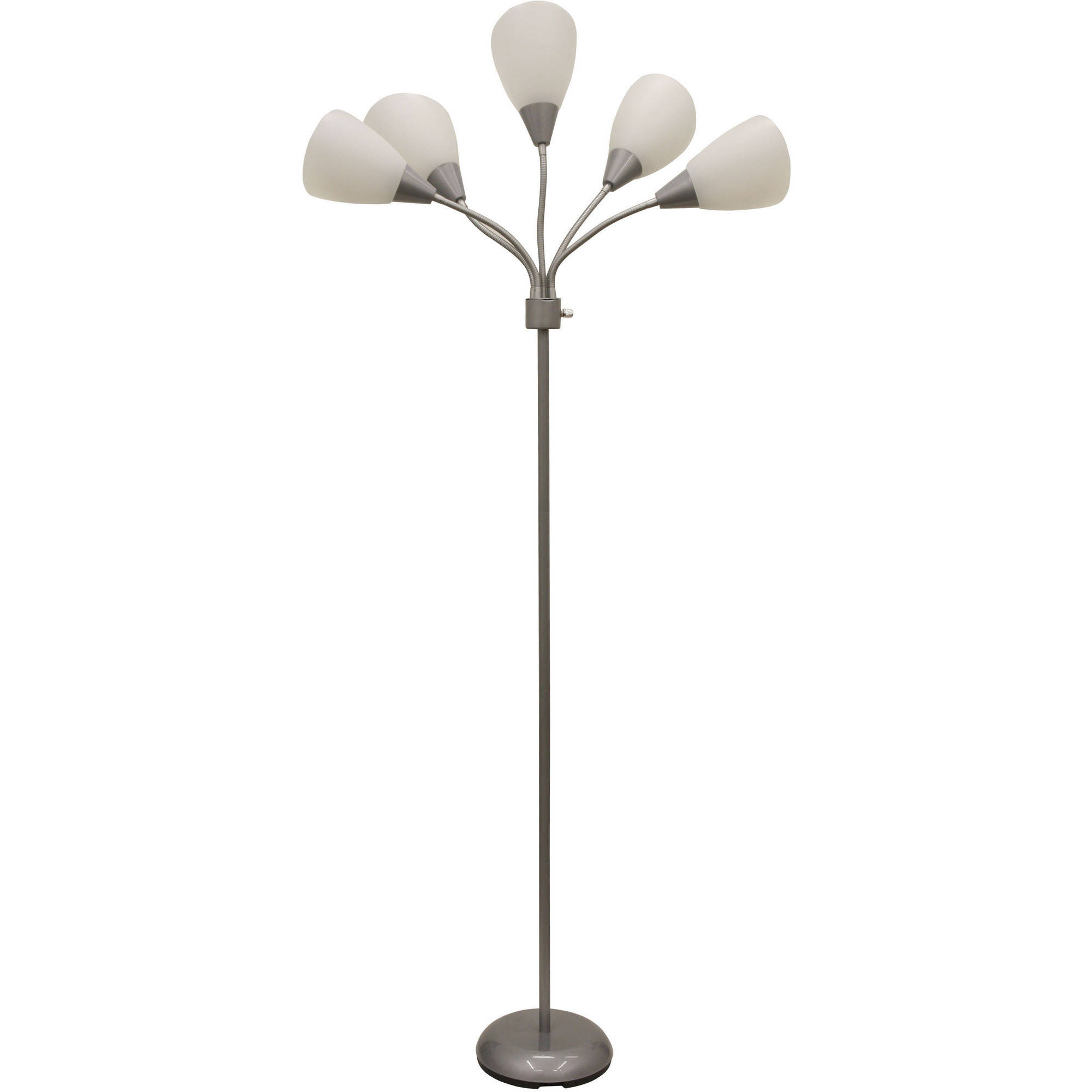 Mainstays 5 Light Floor Lamp, Multiple Colors
