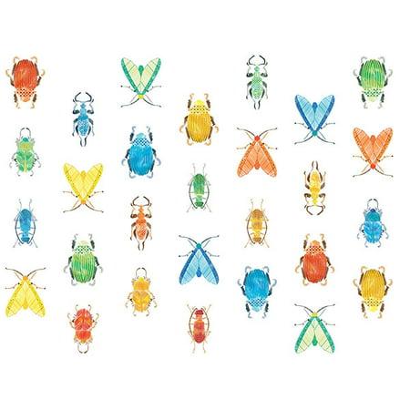 Jelly Bugs Border - Love Bugs Wall Art Kit