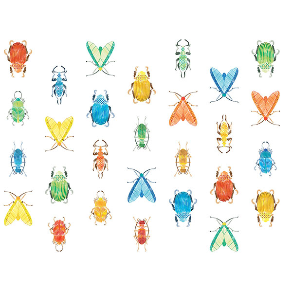 WallPops Love Bugs Wall Art Kit