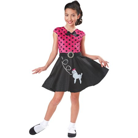 Sock Hop Sweetie Girls Costume