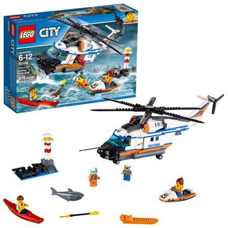 LEGO City Coast Guard Heavy-duty Rescue Helicopter - Emerald City Guard