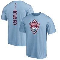 Tim Howard Colorado Rapids Fanatics Branded Backer Name & Number T-Shirt - Light Blue