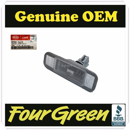 Genuine Trunk License Lamp Right Passenger KIA RIO 4D 5D 2006-2011[925021G000] 4d Front Passenger Door