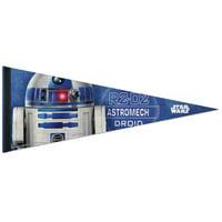 """Star Wars R2D2 12"""" x 30"""" Premium Pennant"""