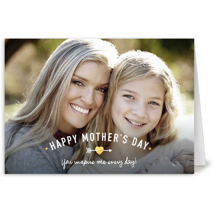 Mom's Heart Mother's Day Greeting Card