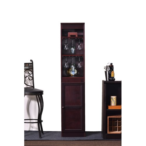 Concepts in Wood 21 Bottle Floor Wine Cabinet