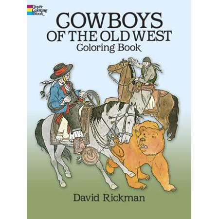 Cowboys of the Old West Coloring Book - Walmart.com