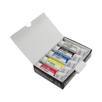 Holbein Designers' Gouache 5-Color Mixing Color Set, Primary Designer Colors, 15ml,