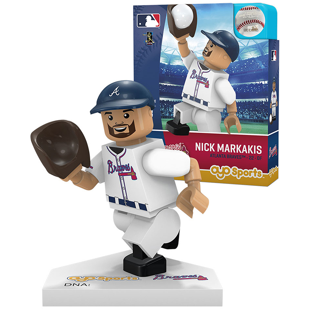 Nick Markakis Atlanta Braves OYO Sports Player MLB Minifigure - No Size