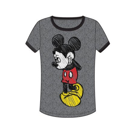 - Disney Women's Mickey Mouse Shy Medium Fashion Tshirt