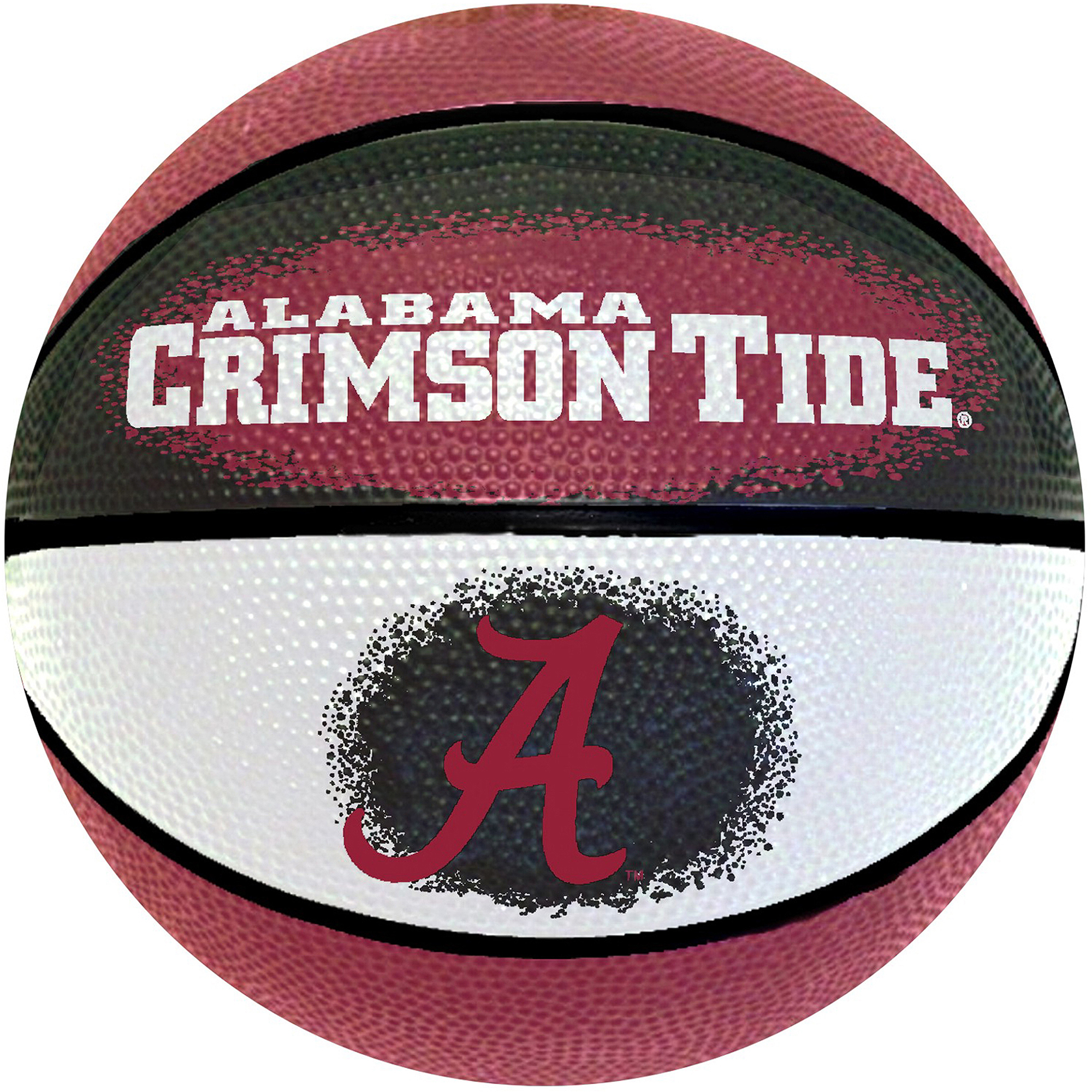 "Game Master NCAA 7"" Mini Basketball, University of Alabama Crimson Tide"