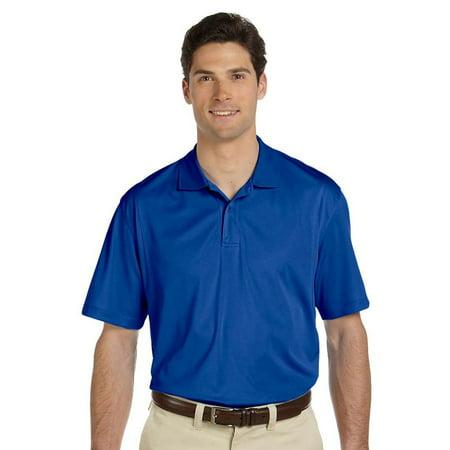 Harriton Men's Snag Resistant Micro Pique Polo Shirt, True Royal, 4XL, Style, M354