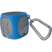 iHome iBT55LGC Bluetooth Rechargeable Mini Speaker System, Blue/Gray