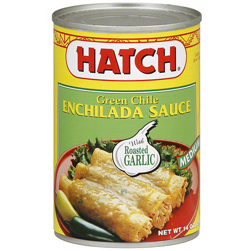 Hatch Green Chile Medium Enchilada Sauce, 15 oz (Pack of 12)