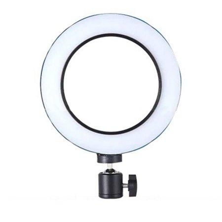 Opolski Universal Round LED Ring Fill Light Webcast Selfie Lamp Tripod Stand Bracket - image 4 of 7