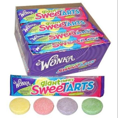 Sweetarts  Giant Chewy Candy 36 pack (1.5oz per pack) (Pack of 2)