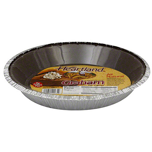***Discontinued by Kehe 5/5***Heartland Chocolate Graham Pie Crust, 6 oz (Pack of 12)