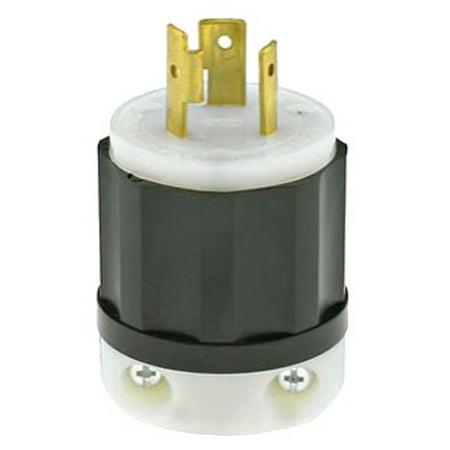 Nema L21 20 (Leviton 2321 20 Amp, 250 Volt, NEMA L6-20P, 2P, 3W, Locking Plug, Industrial Grade, Grounding -)