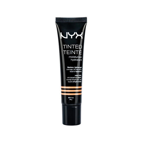(6 Pack) NYX Tinted Moisturizer 07 Almond Belli Eye Brightening Cream - For Dark Circles and Fine Lines - Revitalize Tired Eyes - OB/GYN and Dermatologist Recommended - 0.5 oz