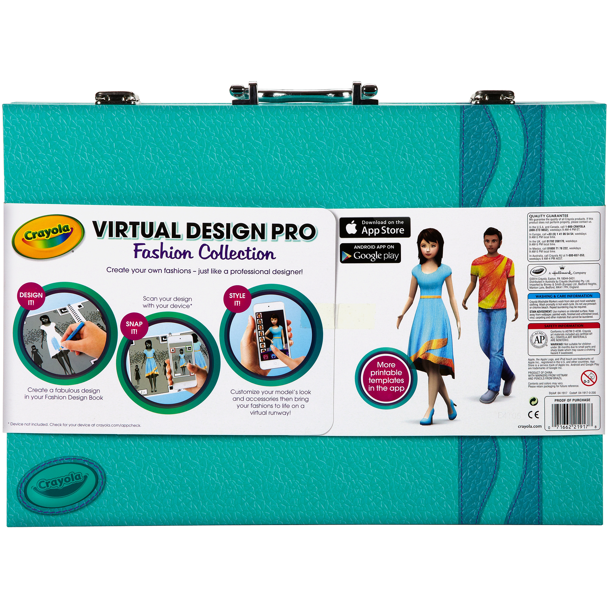 Crayola Virtual Design Pro Fashion Collection Walmart Com Walmart Com