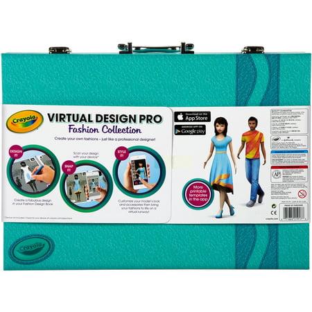 crayola virtual design pro fashion collection walmart com
