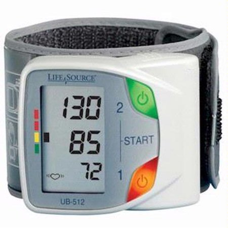 LifeSource UB-512 Digital Wrist Blood Pressure Monitor