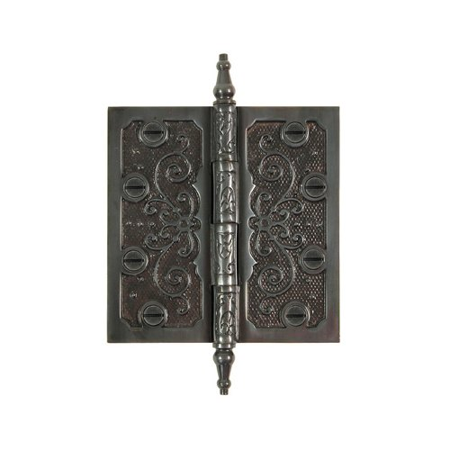 Brass Elegans 4.5'' H   4.5'' W Butt/Ball Bearing Single Door Hinge