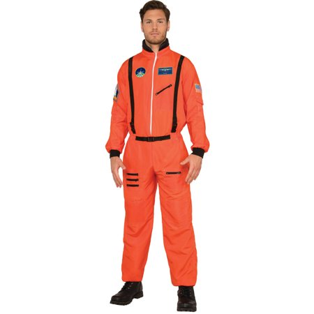 Subtle Halloween Makeup Men (Men's Shuttle Commander Astronaut Moon Walk Suit)