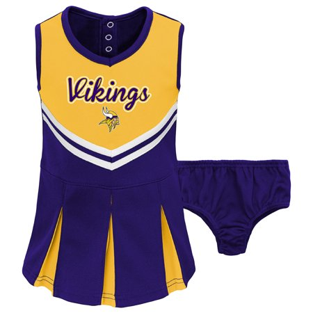 size 40 bdeca 639de Outerstuff - Toddler Gold/Purple Minnesota Vikings ...