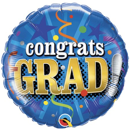 Qualatex Congrats Graduation Party Streamers 18