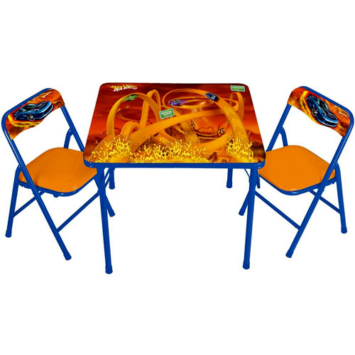 hot wheels table and chair set - walmart