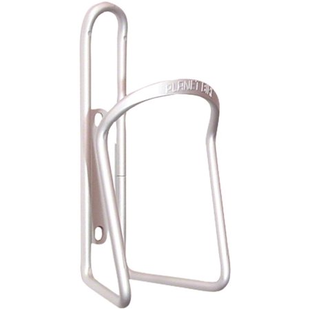Planet Bike Alloy 6.2mm Water Bottle Cage: Silver ()
