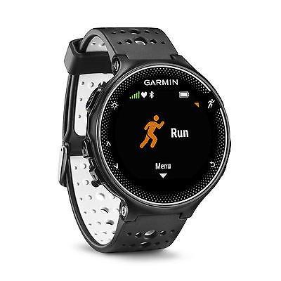 Garmin Forerunner 230 GPS Running Training Tracker Smart Watch, Black and White [Istilo256980]